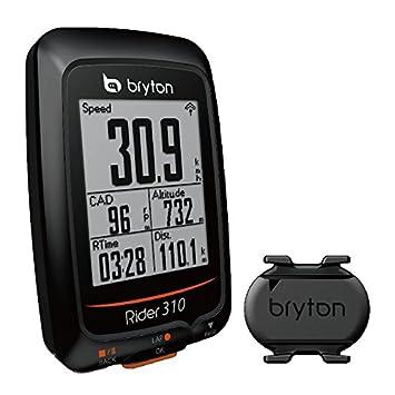 Gps Bike Computer >> Bryton Rider 310 Gps Bike Computer