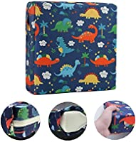 A Portable Chair Seat Pads with Adjustable Straps Chair Pads Padded Seat Cushion Yzzlh 10 Cm Thick Childrens Dining Chair Booster Cushion for Small Children