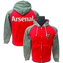 Arsenal FC full zip hoodie, Official Arsenal Product for Kids and Adults