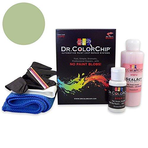 (Dr. ColorChip Cadillac STS Automobile Paint - Silver Green Metallic 92/WA816K - Road Rash Kit)