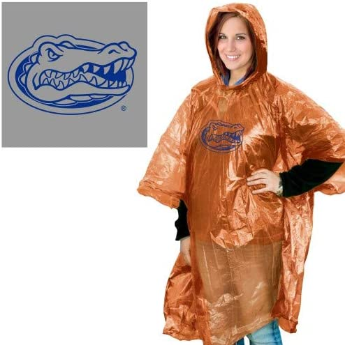 One Size Team Colors WinCraft NCAA Florida Gators Rain Poncho