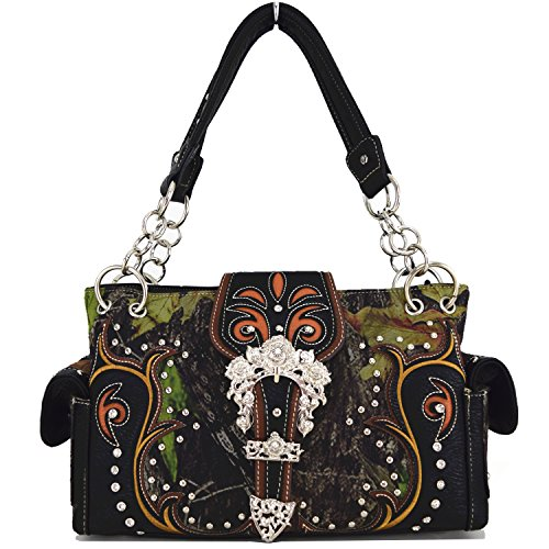 Blancho Bedding Women [classic Pattern] Pu Leather Pouch Bag Handbad Stylish Bag Handbag-black