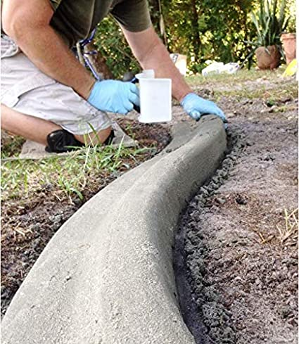 Slant-style Trowel Garden Landscape Concrete Border Edging curb it yourself Tool