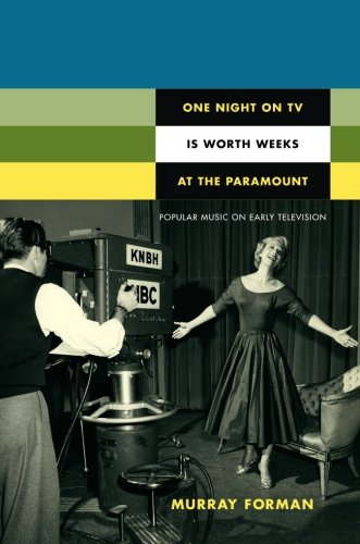 One Night on TV Is Worth Weeks at the Paramount: Popular Music on Early Television (Console-ing Passions)