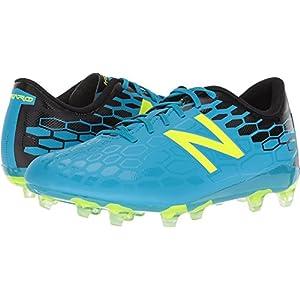 New Balance Boys' Visaro 2.0 Control Jnr FG Soccer Shoe, Maldives/Hi Lite, 3 M US Little Kid