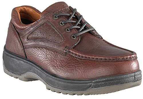 Florsheim Work Men's FS2400 Steel-Toed Work Boot,Dark Brown,8.5 D US by Florsheim