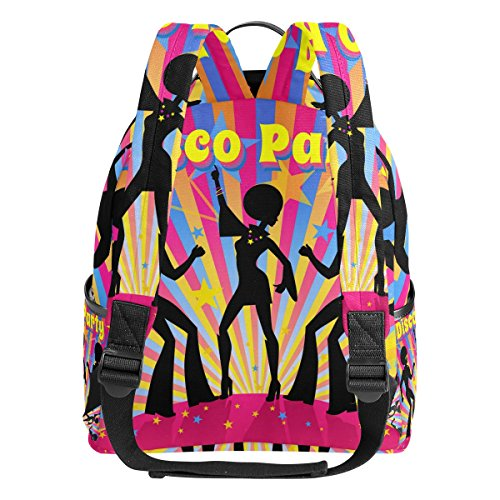 School Handbag TIZORAX Lightweight Party Daypack Laptop for Disco Casual Bag Shoulder Backpack Student PCPzZg