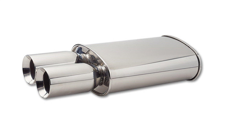 Vibrant 1106 Oval Stainless Steel Muffler