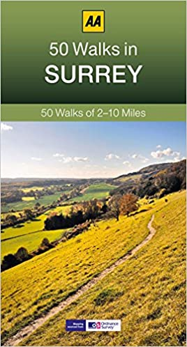 Surrey Walking Guidebook (AA)