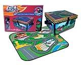 Neat-Oh! ZipBin Full Throttle Small Town 220 Car Toy Box & Playset w/ 1 Car