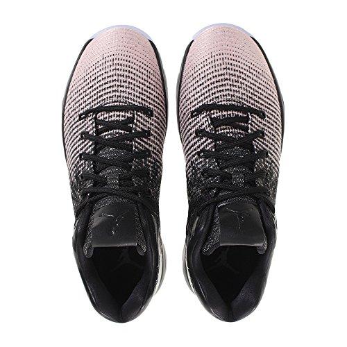 Nike Air Jordan Xxxi bassa scarpa da basket, nero/lucido/grigio scuro Black/Sheen/Dark Grey