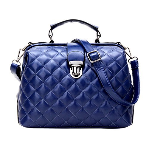 Multi Style Zipper Bag Handbag Shoulder Bag Purse For Women (blue) Jfx65281002