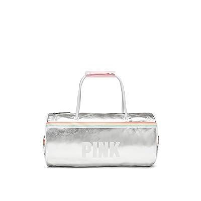 Victoria's Secret PINK NEW Varsity Mini Duffle Bag Color Iridescent NWT