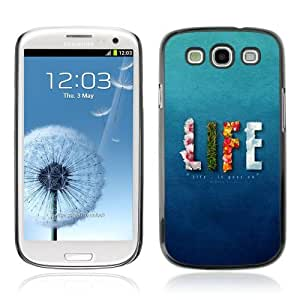Designer Depo Hard Protection Case for Samsung Galaxy S3 / Life Elements