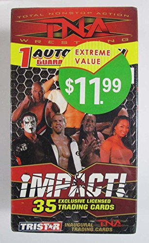 2008 Tristar TNA Wrestling Impact Inaugural Trading Card Box Factory Sealed