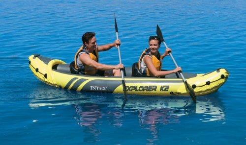 Intex Explorer K2 Kayak, Yellow