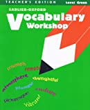 Vocabulary Workhsop, Level Green, , 0821504134