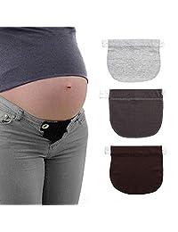 Pregnancy Waistband Extender FOONEE Maternity Pant Extender Pregnancy Belt Special for Pregnant Women/Expectant Mothers -Set of 3
