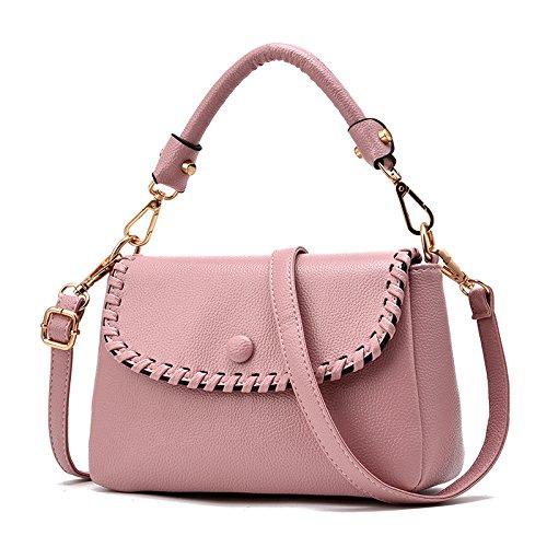 Mefly Bolsos De Moda Bolsos Bolsos De Mediana Edad Azul Marino Pink