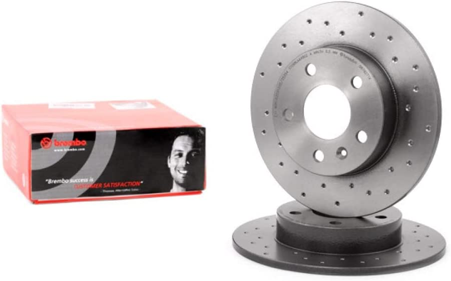 Brembo 08.7627.1X Bremsscheibe BREMBO XTRA LINE