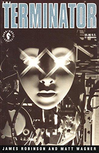 TERMINATOR #1, NM-, Matt Wagner, Death, 1991, more Sci-Fi in store