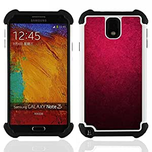 King Case - purple watercolor black color wallpaper - Cubierta de la caja protectora completa h???¡¯???€????€?????brido Body Armor Protecci&Atild