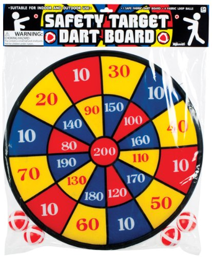 Toysmith 11287 Fabric Dart Board