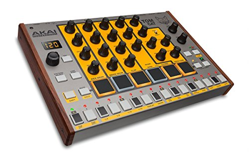 Akai Professional Tom Cat | True Analog Drum Machine with Built-in Percussion Voices by Akai Professional