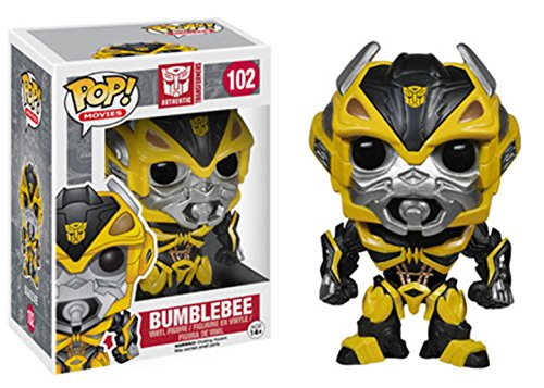 Funko POP! Movies: Transformers: Age of Extinction-Bumblebee Action Figure (Pop Bumble)