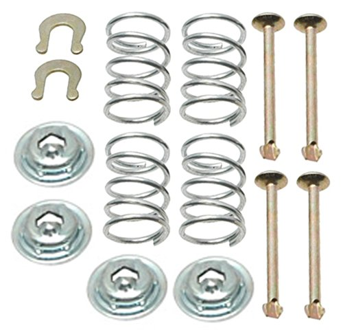 ACDelco 18K755 Professional Rear Drum Brake Shoe Hold Down Kit with Springs, Pins, Retainers, and Washers