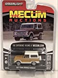 "1977 Ford Bronco Ranger Cinnamon Brown and White (Indianapolis 2018)""Mecum Auctions Collector Cars Series 3 1/64 Diecast Car by Greenlight 37170 E"