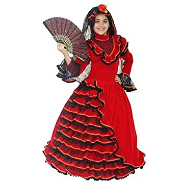 Abito spagnola carnevale