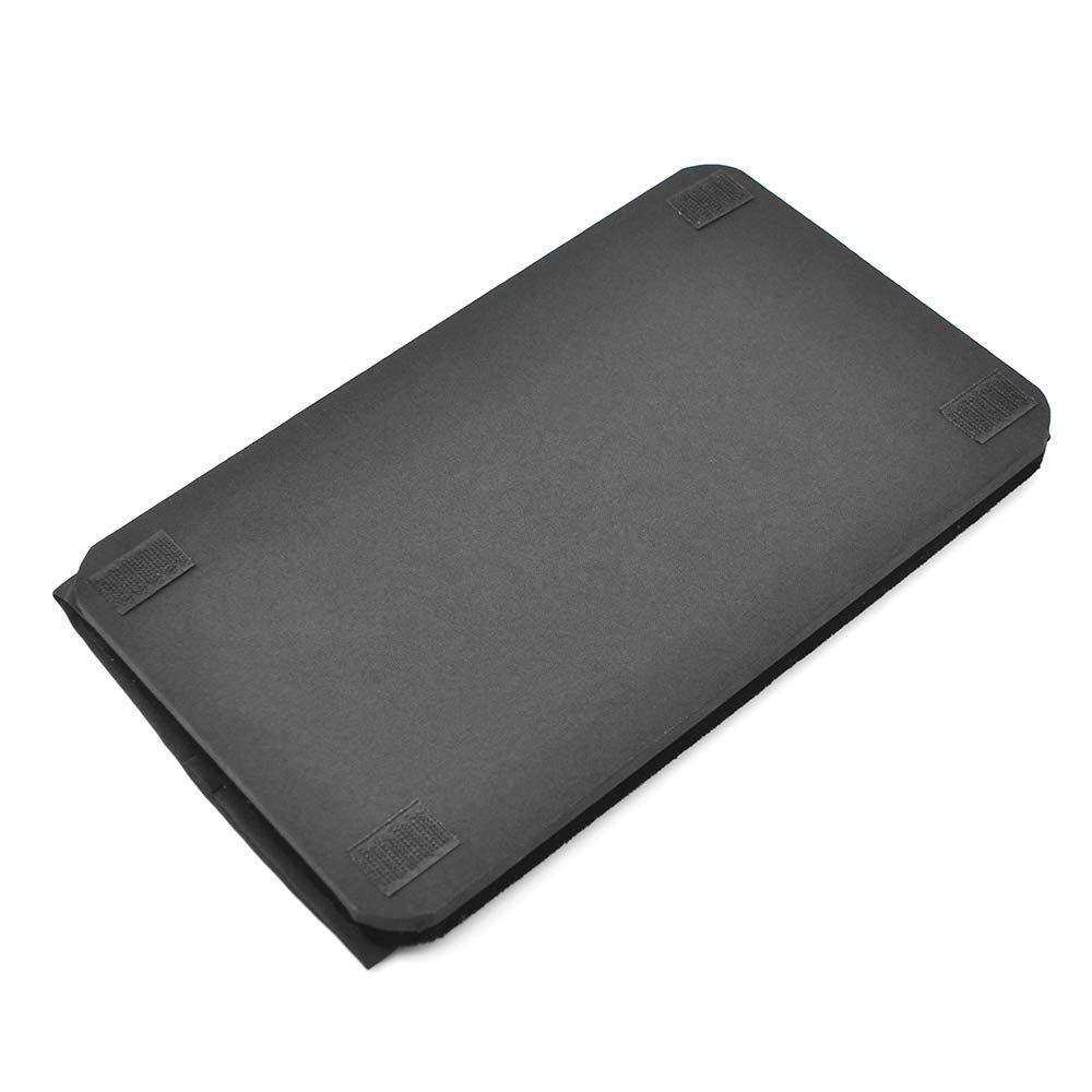 Doowops Presto Pad (Close Up Style, Black,43×33cm/17×13'') Magic Tricks Magician Accessories Gimmick Coin Card Mat Table Hopper Close Up Pa by Doowops (Image #4)