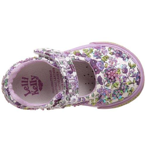 Lelli Kelly LK4502 (AA02) Fantasia Bianco Farfalla Adjustable Sandals-33 (UK 1)