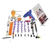 HiYi PDR 51pcs Auto Paintless Dent Repair Tools Glue Gun Dent Puller Slide Hammer Dent Lifter Dent Tabs PDR Tools