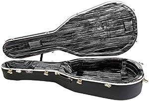 hiscox cases liteflite artist acoustic guitar case black shell silver interior. Black Bedroom Furniture Sets. Home Design Ideas