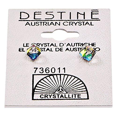 Desitne Austrian Crystal Cube-Shaped - Austrian Crystal Vitrail