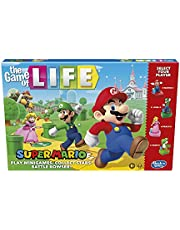 Hasbro The Game of Life: Super Mario Edition Board Game for Kids Ages 8 and Up, Play Minigames, Collect Stars, Battle Bowser, E9488