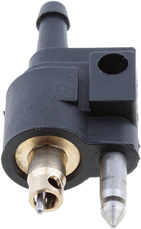 2 Stücke Außenbordmotor Kraftstoffleitung Anschluss