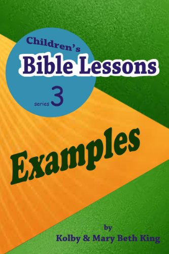Children's Bible Lessons: Examples