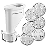 KitchenAid 5KSMPEXTA Gourmet Pasta Press with Six