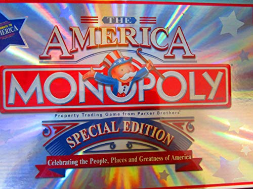 - Parker Brothers Monopoly ~ the America ~ Special Edition