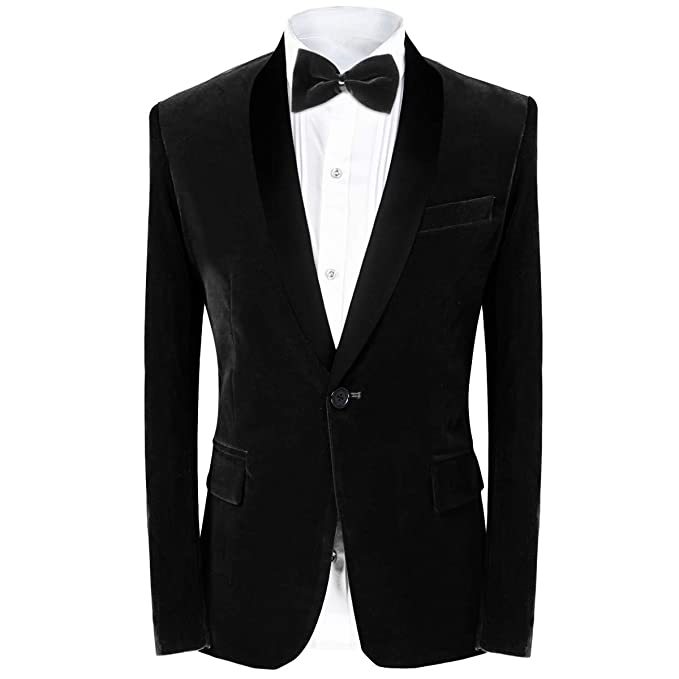 Amazon.com: MAGE MALE Traje de 2 piezas para hombre, traje ...