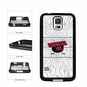 Carolina Ice TPU RUBBER SILICONE Phone Case Back Cover Samsung Galaxy S5 I9600 by icecream design