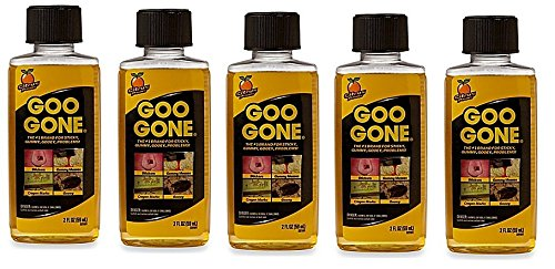 Goo Gone Remover | Greasy Residues and Messes (5Pack (2 oz)) by Goo Gone