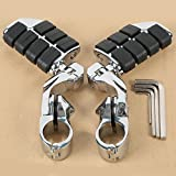 XMT-MOTO 360 degree Adjustable Highway Foot Pegs Footpeg Footrests For Harley