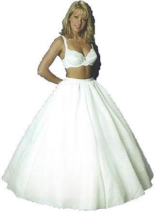 New Full Bridal Petticoat Wedding GOwn Slip 444V Small