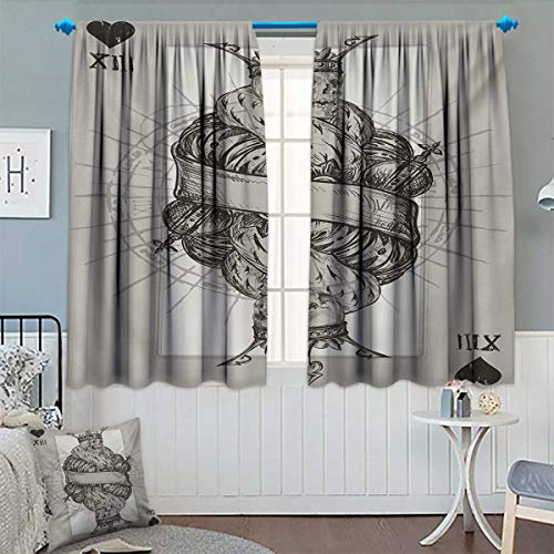 King Waterproof Window Curtain Dead Skull Skeleton for sale  Delivered anywhere in Canada