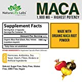 Organic Maca Root Black, Red, Yellow 1900 MG per