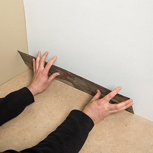 Aspect Tarnished Quartz Peel and Stick Stone Backsplash Tiles